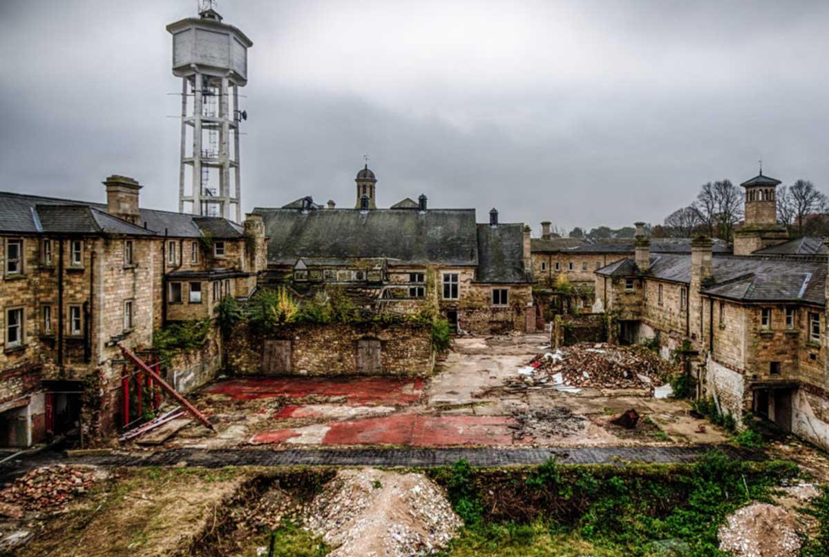 Saint John's Asylum - Hospitales psiquiátricos encantados